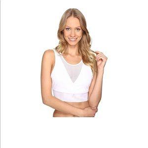 Alo yoga jubilee bra size S NWT white